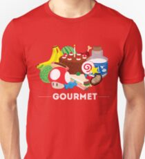 Gourmet - Video Game Food Tee T-Shirt