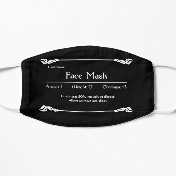 RPG Face Mask Stats Mask