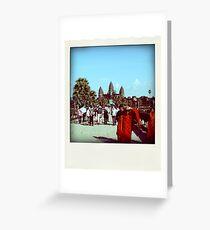 Siem Reap - Cambodia Greeting Card