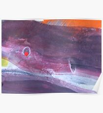 Abstract Landscape Poster