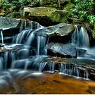 Lower Somersby Falls, Central Coast, New South Wales by Erik Schlogl