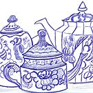 Teapots by Jay Reed
