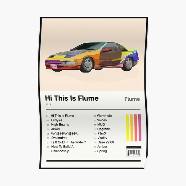 Hi This Is Flume Tracklist Poster