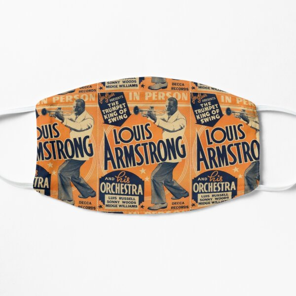 Louis Armstrong Vintage Flat Mask