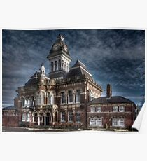 Grantham town Hall  Poster