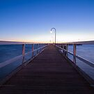 Sunset over Port Melbourne by Engagephotos23
