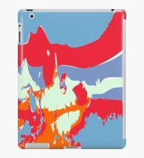 Abstract alien Antarctic Sunrise iPad Case/Skin
