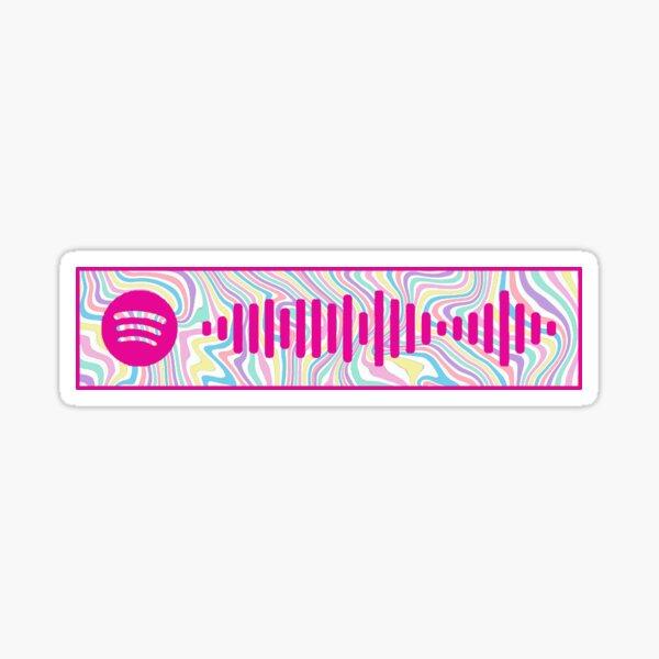 Mr. Brightside - The Killers Spotify Code Sticker