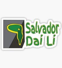 Salvador Dai Li Sticker
