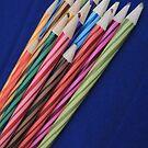 Coloured Pencil Phone Case by CreativeEm