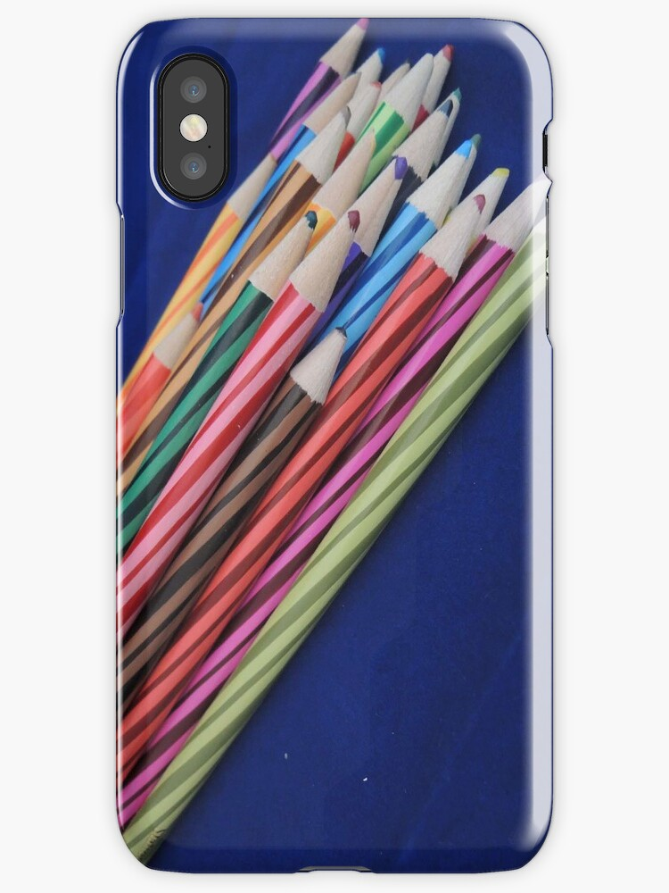 Coloured Pencil Phone Case by CreativeEm