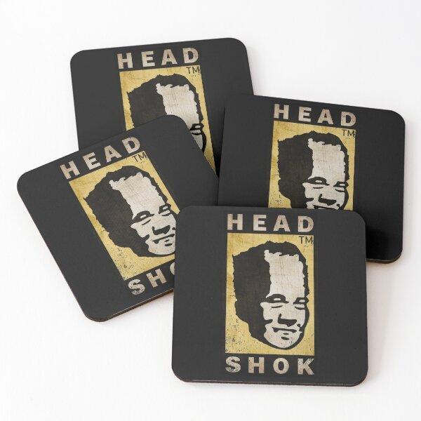 Head Shok Rust Coasters (Set of 4)