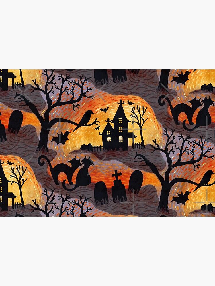 Spooky Haunted Halloween by creativinchi