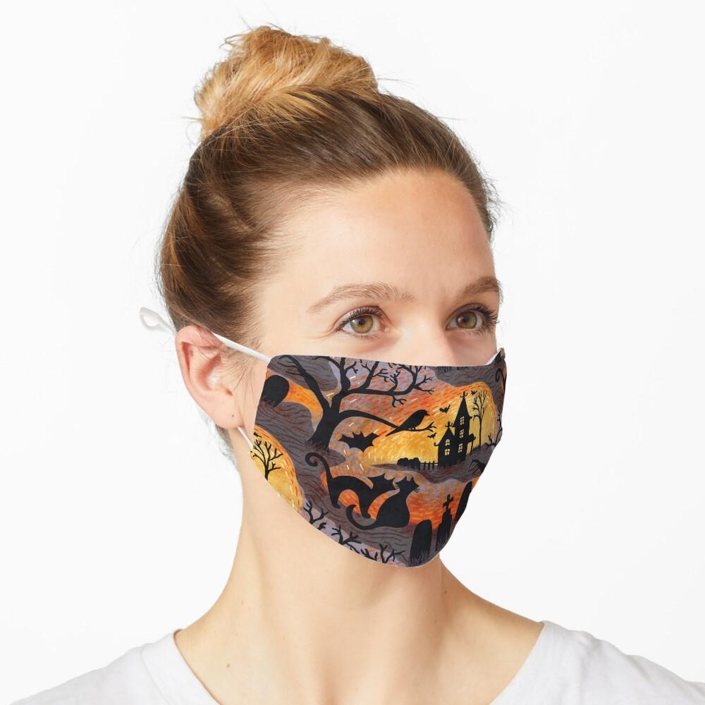 Spooky Haunted Halloween Mask