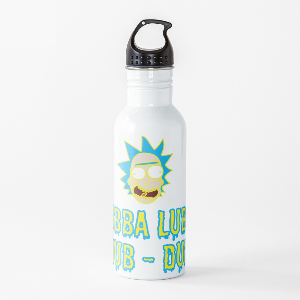 Wubba Lubba Dub Dub - Ricky And Morty Water Bottle