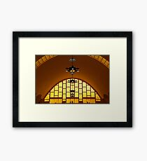 The Arch, Reims Market, Marne, France Framed Print