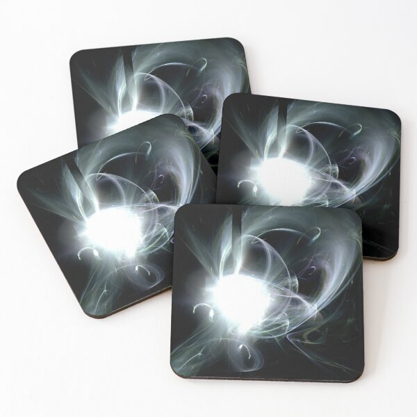 Blackhole Sun Coasters (Set of 4)