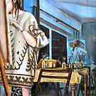 Tami Reflecting by Martin Kirkwood
