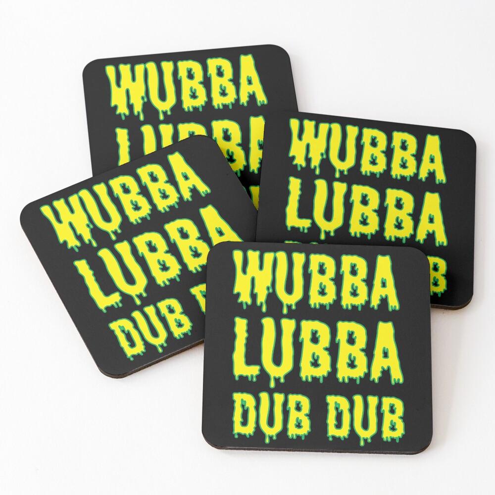 Wubba Lubba Dub Dub - Ricky And Morty Coasters (Set of 4)