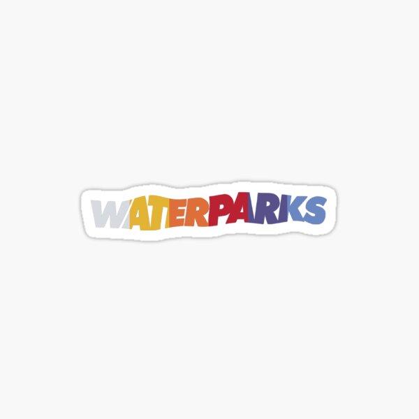Waterparks gods favorite boy band logo Sticker