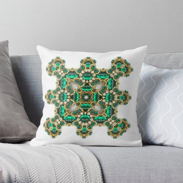 Krazy Kaleidoscope 1033 Throw Pillow