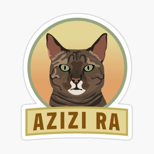 Azizi Ra Sticker