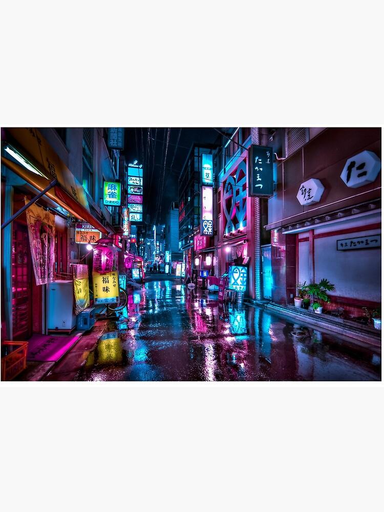 Tokyo at Night - Shimbashi by TokyoLuv
