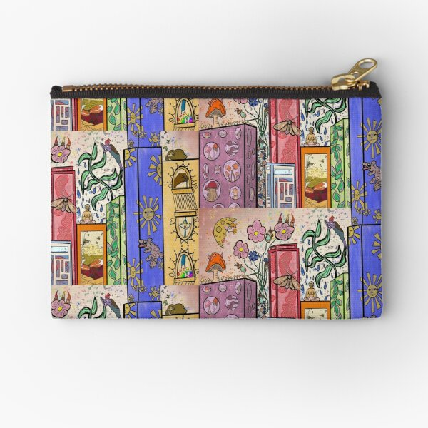 City Life Zipper Pouch