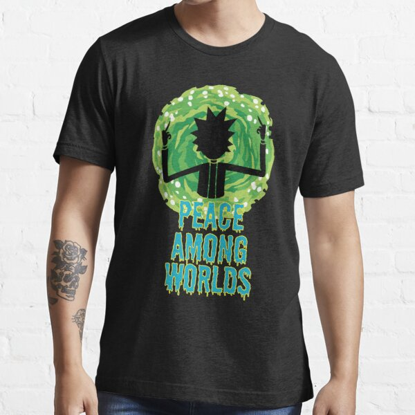 Peace Among Worlds - Rick and Morty Quotes Essential T-Shirt
