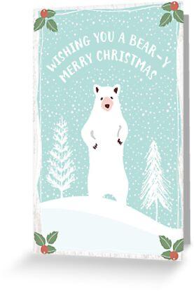 Bear-y Christmas by coffeewithmilk