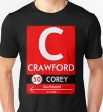Retro CTA sign Crawford T-Shirt
