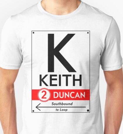 Retro CTA sign Keith T-Shirt