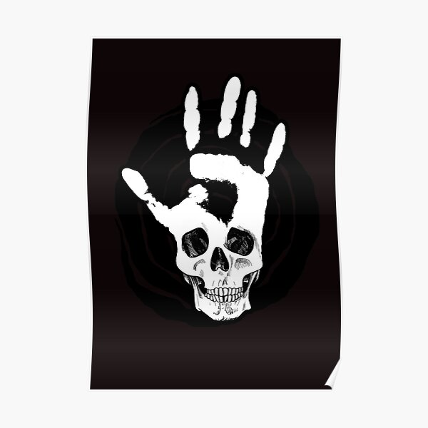 Symbol - SKULLHAND Poster