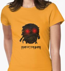 Fear Of The Dark Womens Fitted T-Shirt