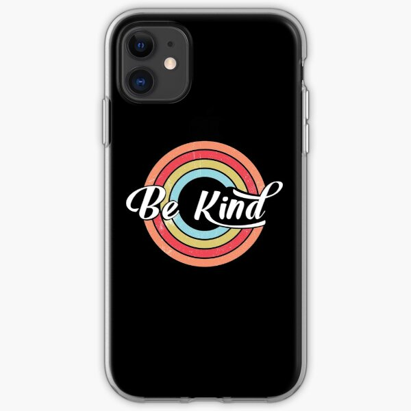 BE KIND, COOL DESIGNS iPhone Soft Case