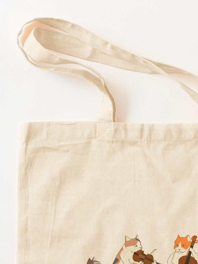 Alternate view of Cool Cat Quartet Tote Bag