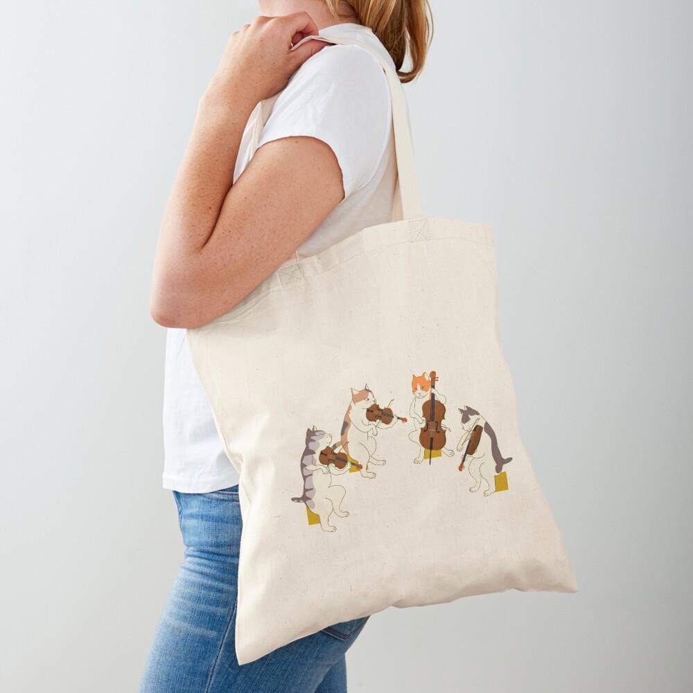 Cool Cat Quartet Tote Bag