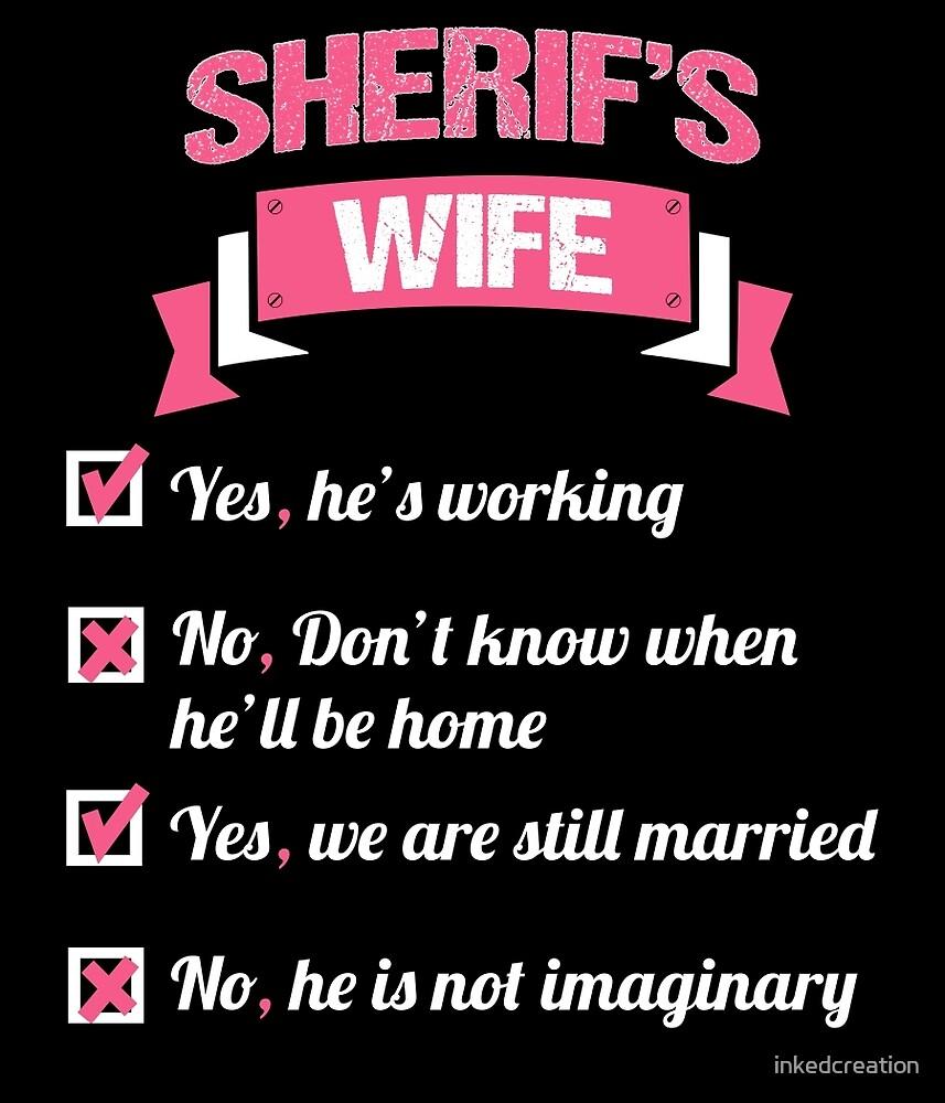 SHERIFF'S WIFE by inkedcreation