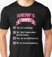 SHERIFF'S WIFE Unisex T-Shirt