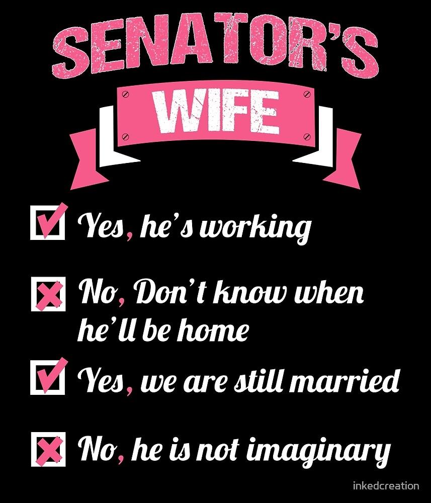 SENATOR'S WIFE by inkedcreation