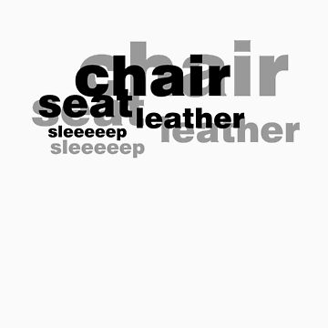 Seat Leather Sleeeeep (black) by amobt