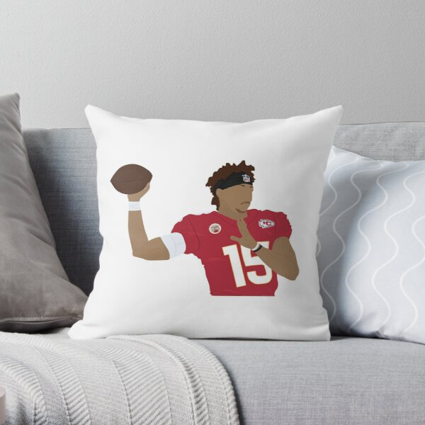 Patrick Mahomes Throw Pillow