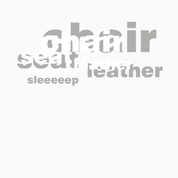 Seat Leather Sleeeeep (white) by amobt