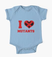 I Heart / Love Mutants One Piece - Short Sleeve