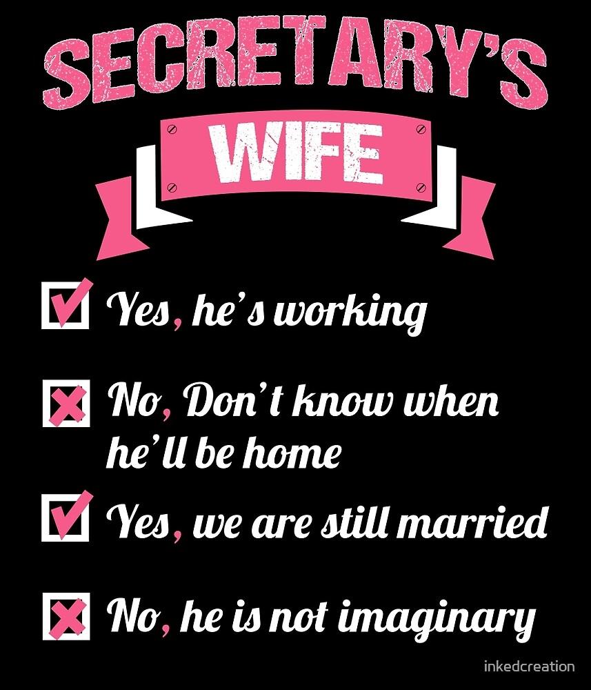 SECRETARY'S WIFE by inkedcreation