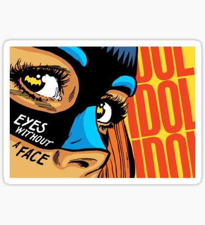 Eyes Without a Face Sticker