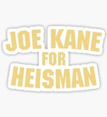 The Program - Joe Kane For Heisman Sticker