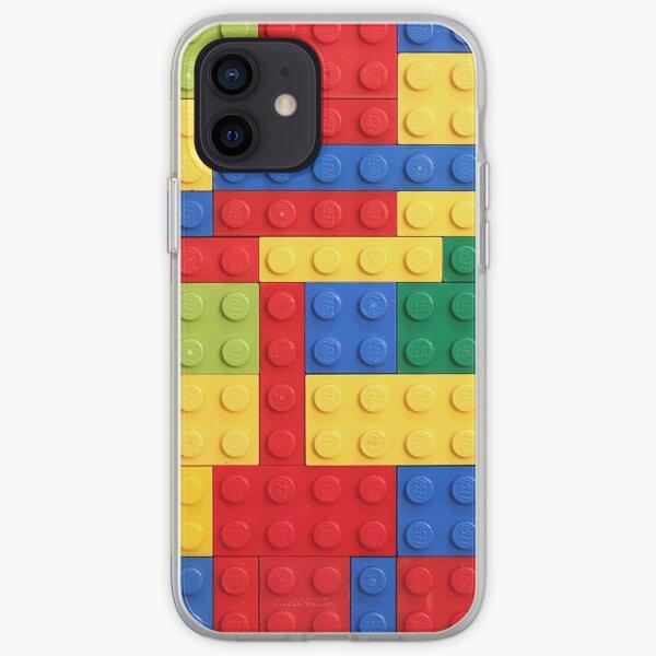 Conception de briques colorées Coque souple iPhone