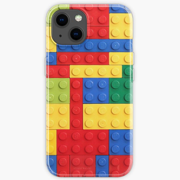 Colorful Bricks Design iPhone Soft Case