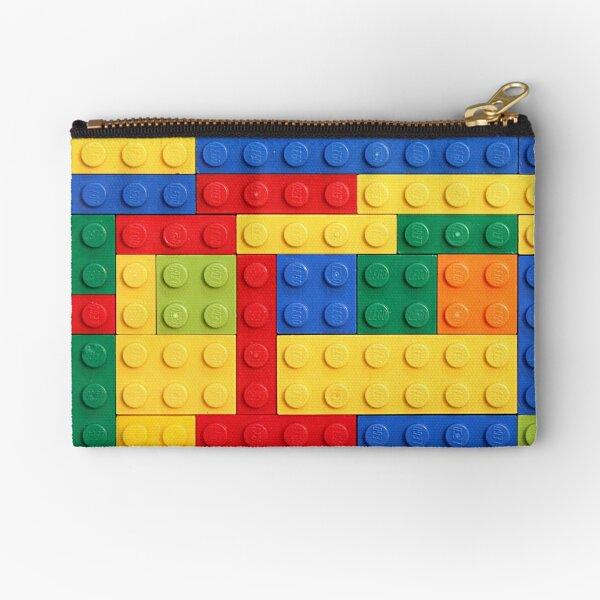 Colorful Bricks Design Zipper Pouch